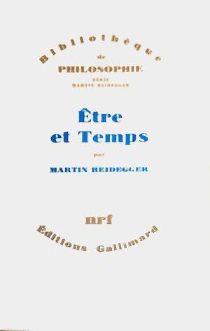 Être et Temps - Sein und Zeit – Wikipedia