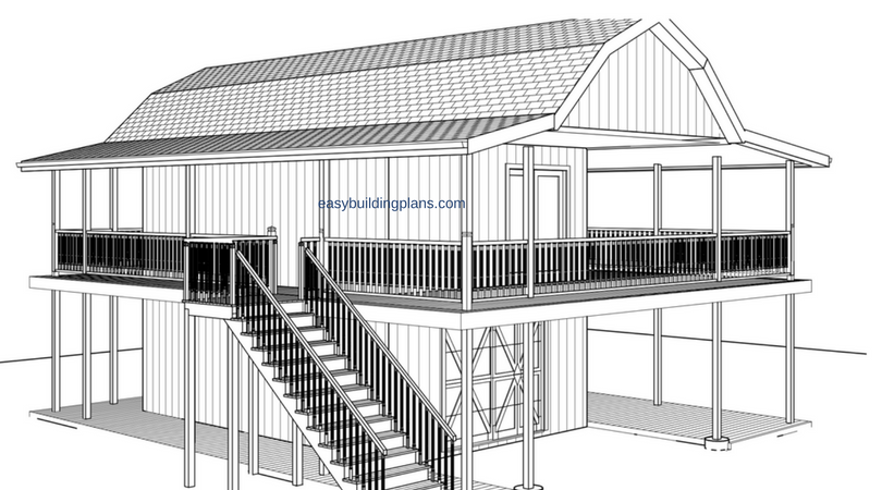 Barn Style Studio plans