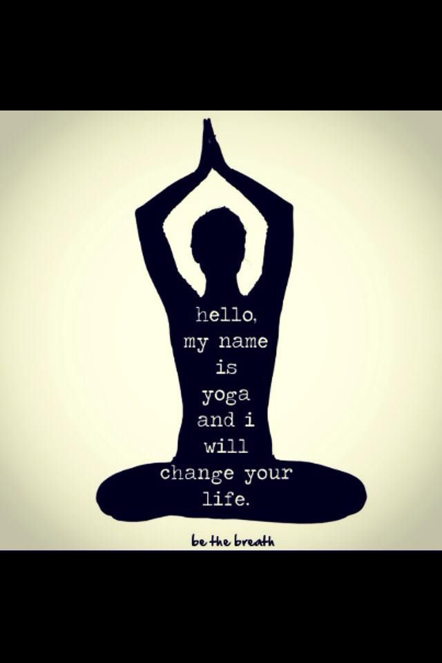 Hello my name is Yoga and I will change your life ...