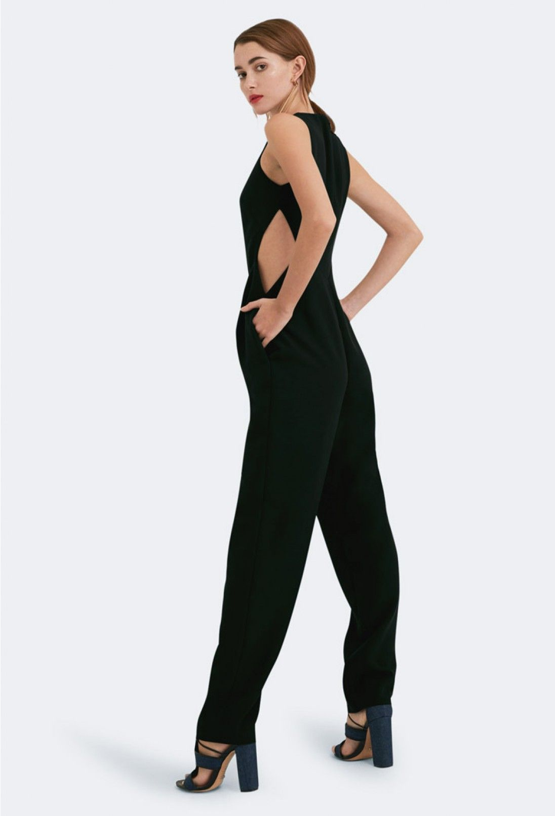 02d85759d72 AQ AQ Ivy Cut-Out Jumpsuit · Black