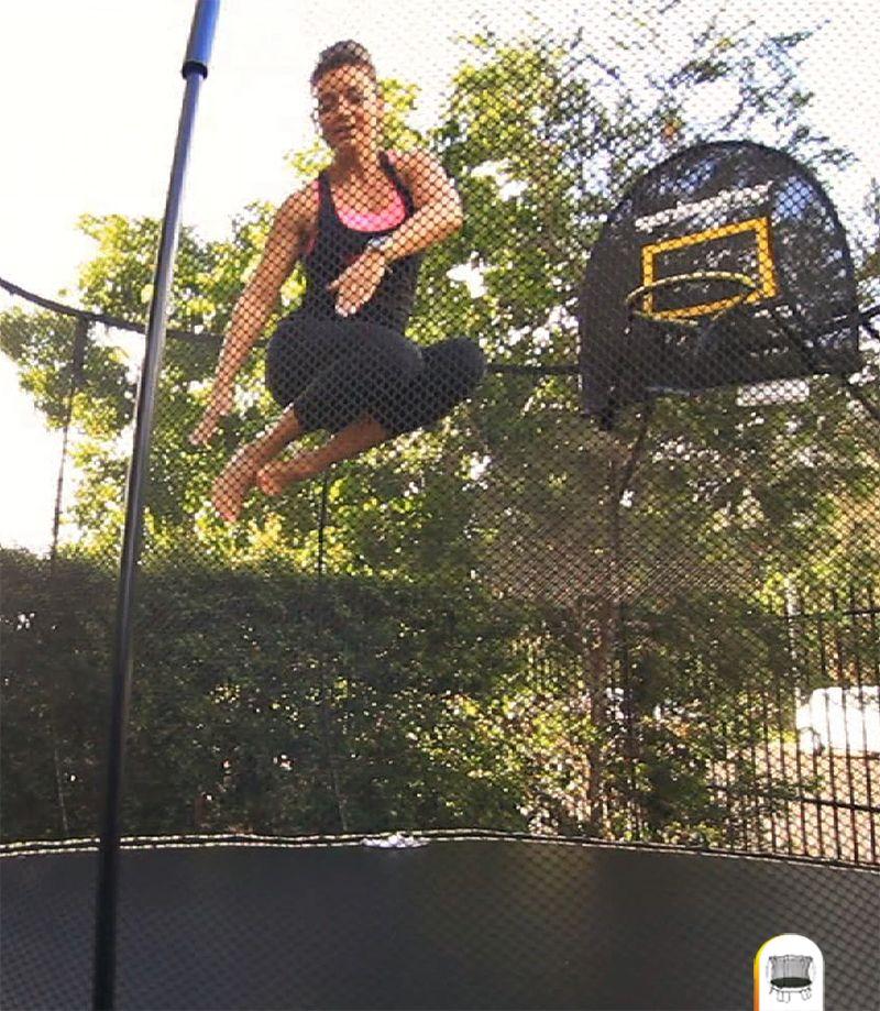 Reboundair Youtube: Springfree™ Trampoline Workouts With Lean Mumma