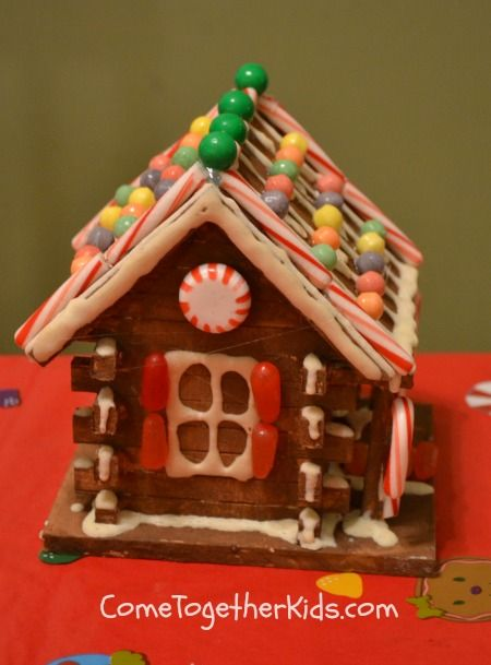 Come Together Kids Faux Gingerbread Houses Christmas Gingerbread House Gingerbread House Gingerbread House Decorations