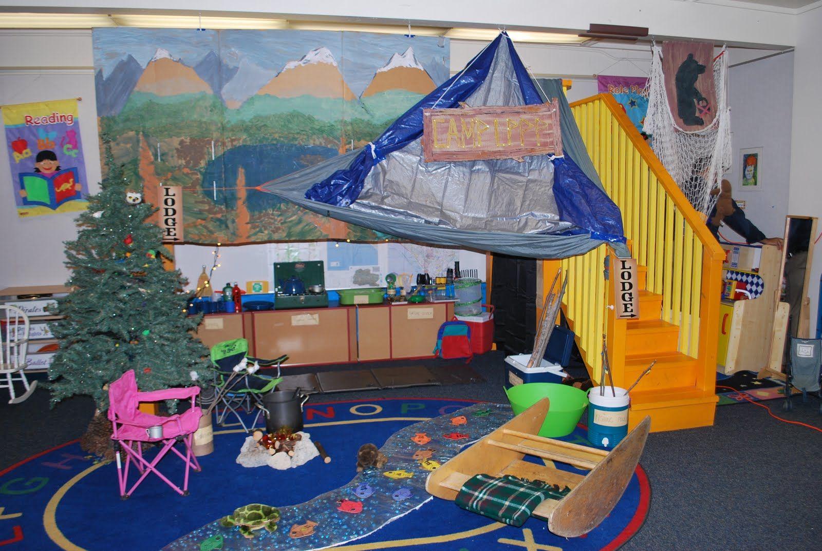 Camping Theme Worksheet Toddlers