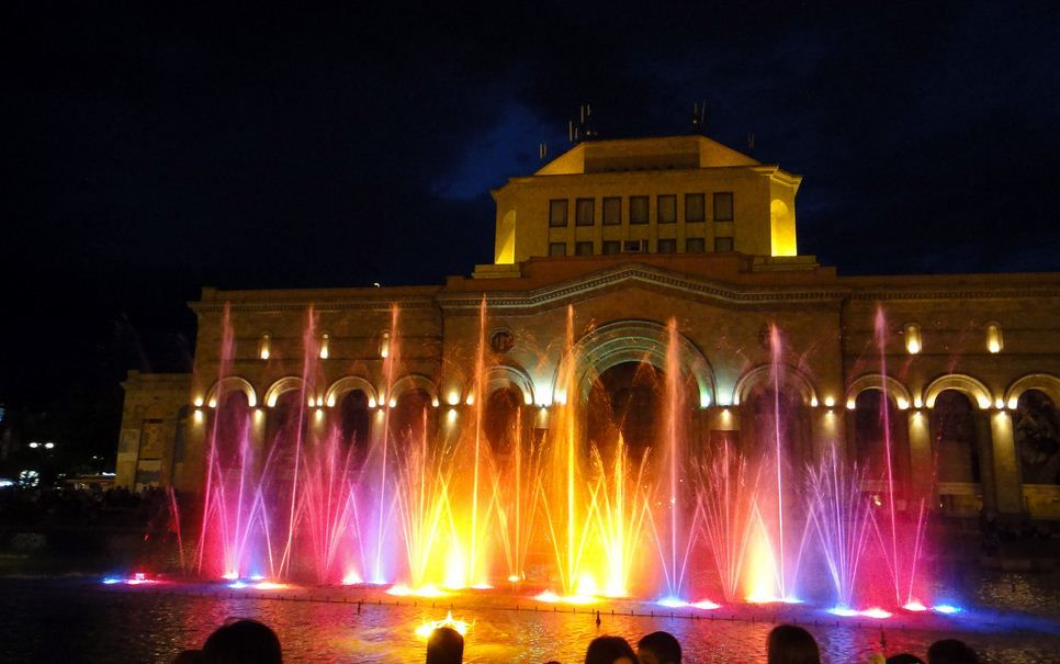 The Night View at Yerevan, Armenia