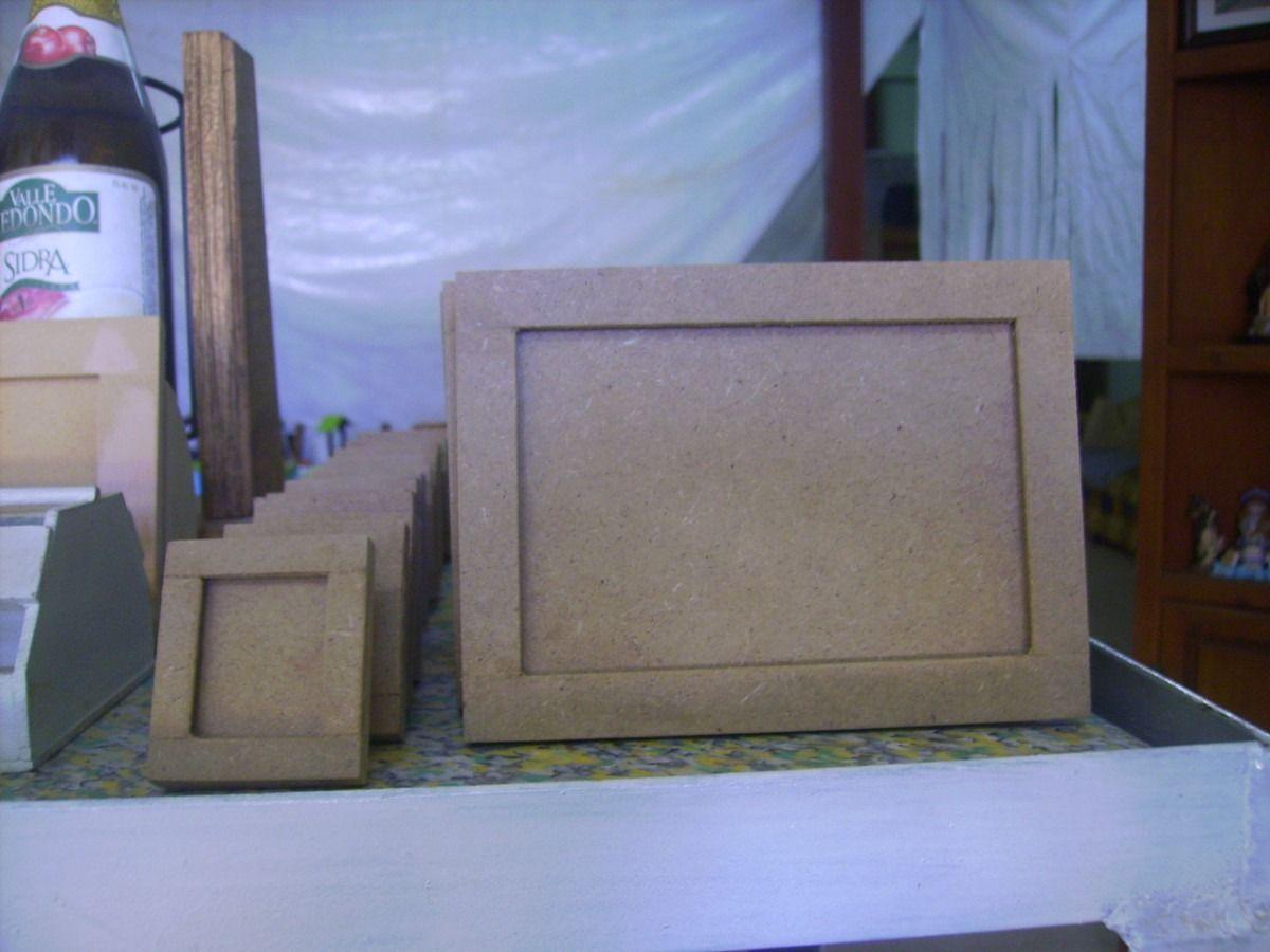 Cajas portaretratos manualidades todo en madera mdf for Caja madera manualidades