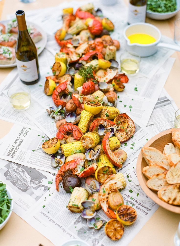 Superior Seafood Dinner Party Ideas Part - 2: Host A Seafood Boil - Summer Entertaining