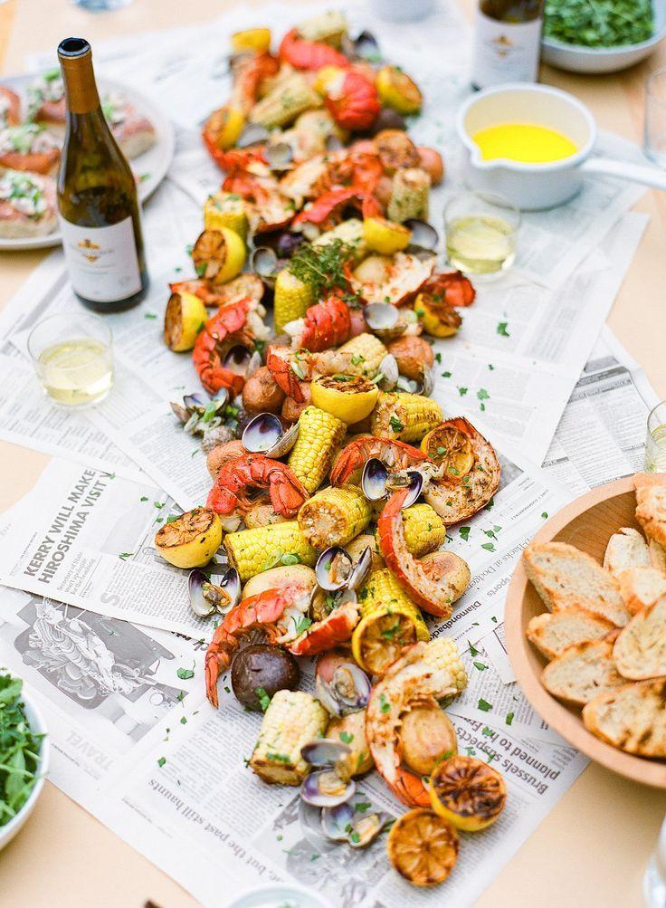 Summer Menu Ideas For Dinner Party Part - 23: Host A Seafood Boil - Summer Entertaining