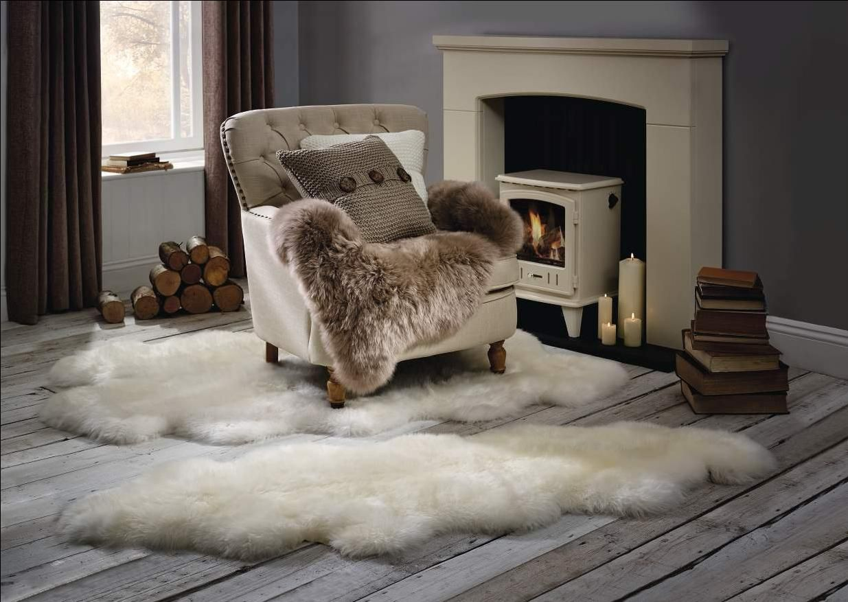 Stay Cosy This Winter With Luxuriously Soft Sheepskin Rugs
