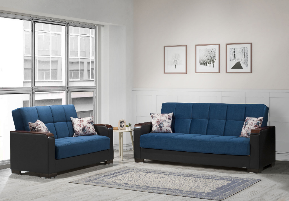Armada X Emerald Blue Sofa 37 Casamode Furniture Fabric Sofas Sofa Bed With Storage Blue Sofa Sofa