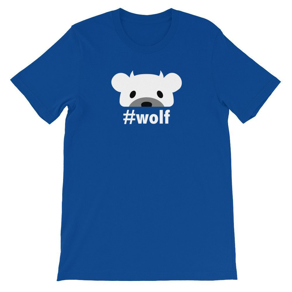 """Wolf Devil"" Type Shirt"