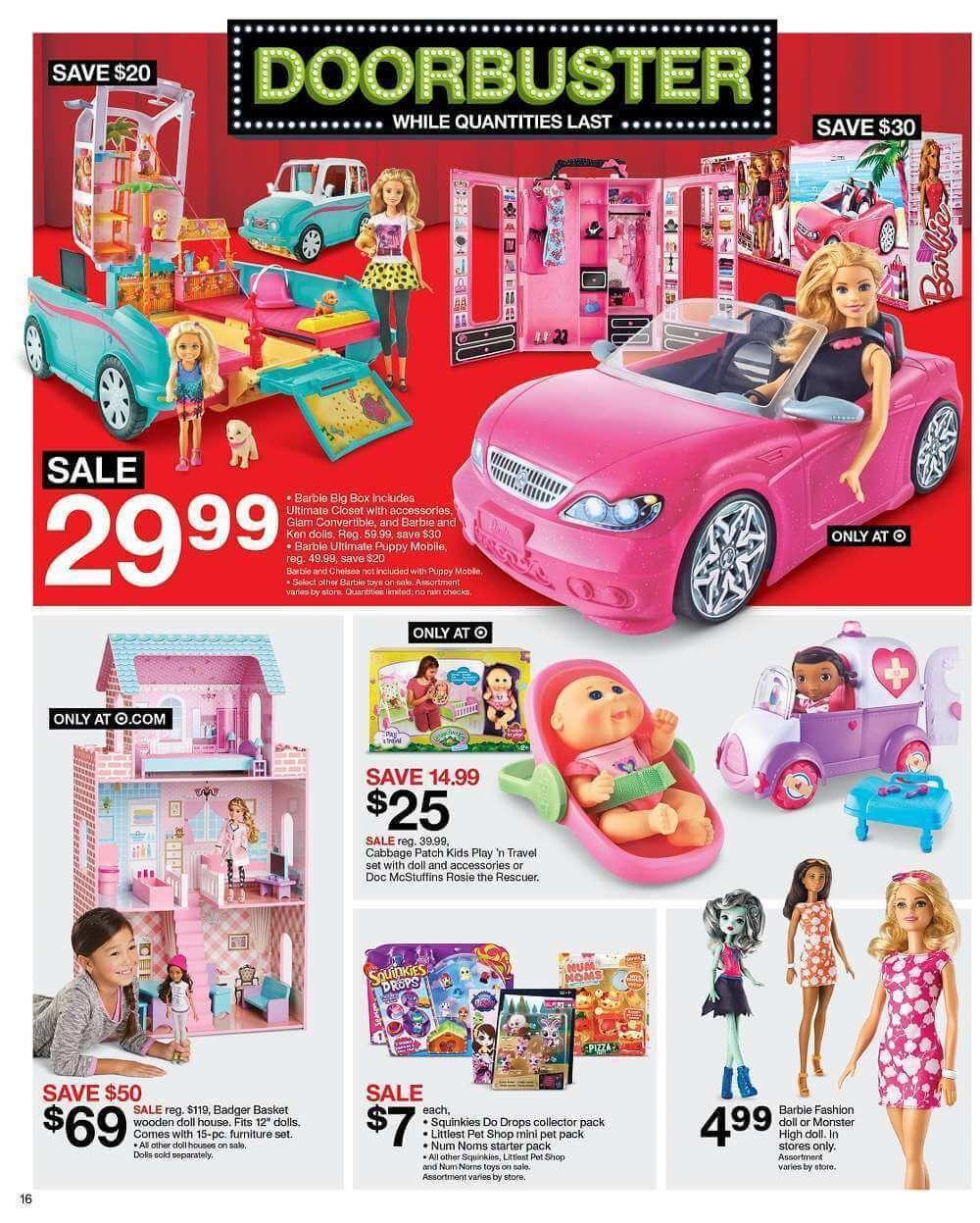 Monster High Dolls Target 5 Black Friday Target Black Friday Black Friday Shopping