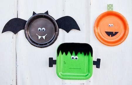 Manualidades de halloween para niños Home-made Halloween and Scrap
