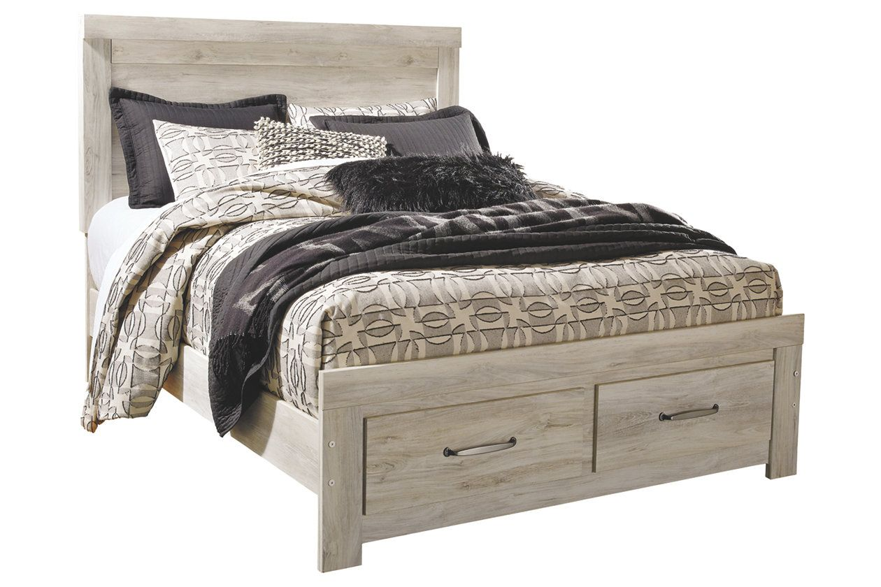 Bellaby Queen Platform Bed with Storage Ashley Furniture