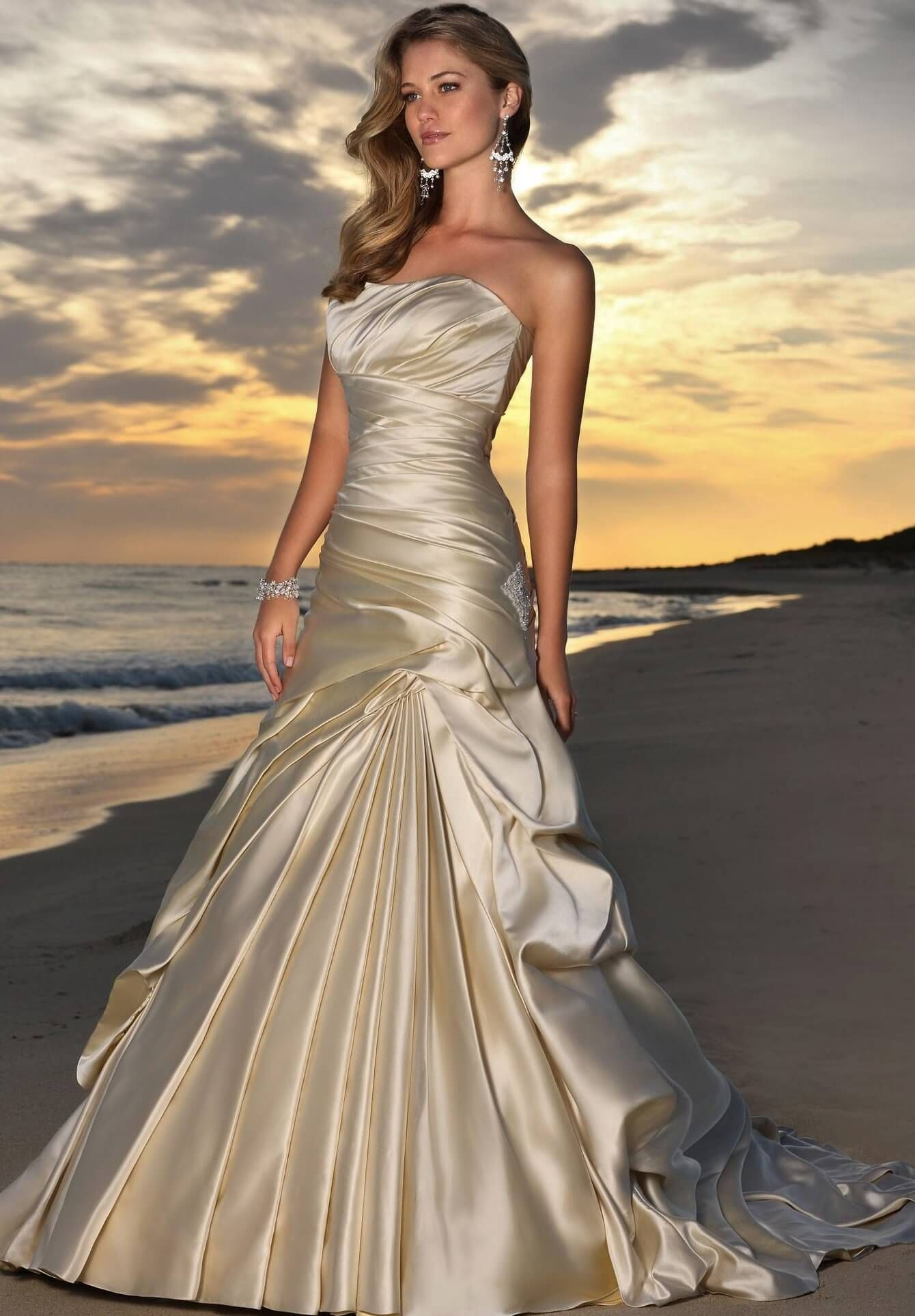 Image result for champagne wedding dress wedding vow renewal image result for champagne wedding dress ombrellifo Image collections