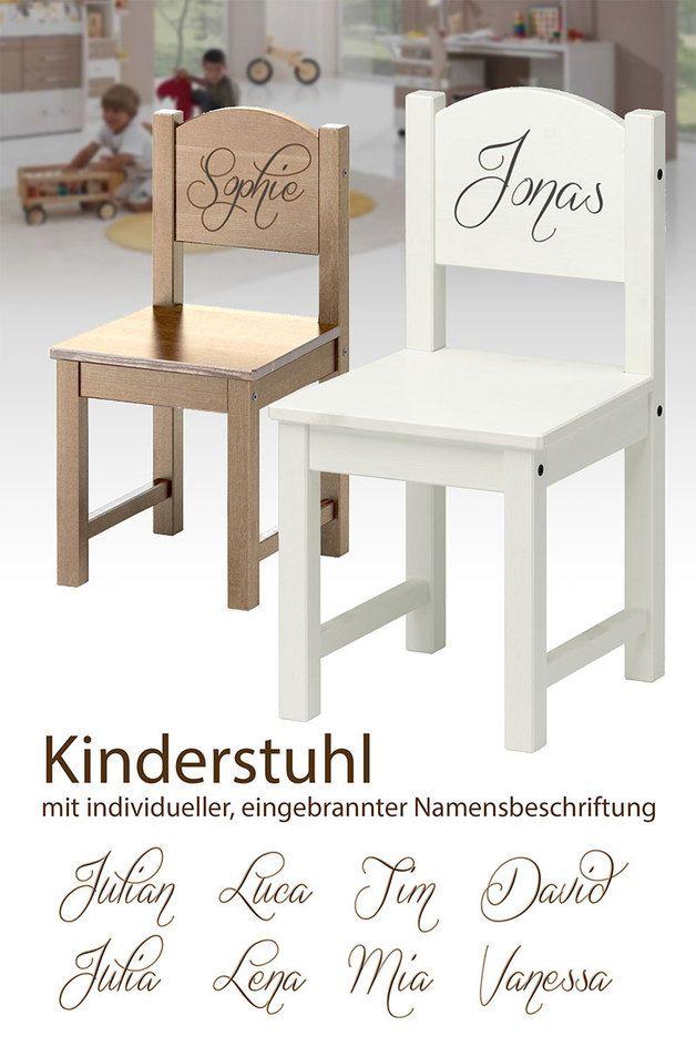 Kinderstuhl Holz Mit Ind Namen Kinder Stuhl Kinderstuhl Holz Stuhle Fur Kinder Babystuhl