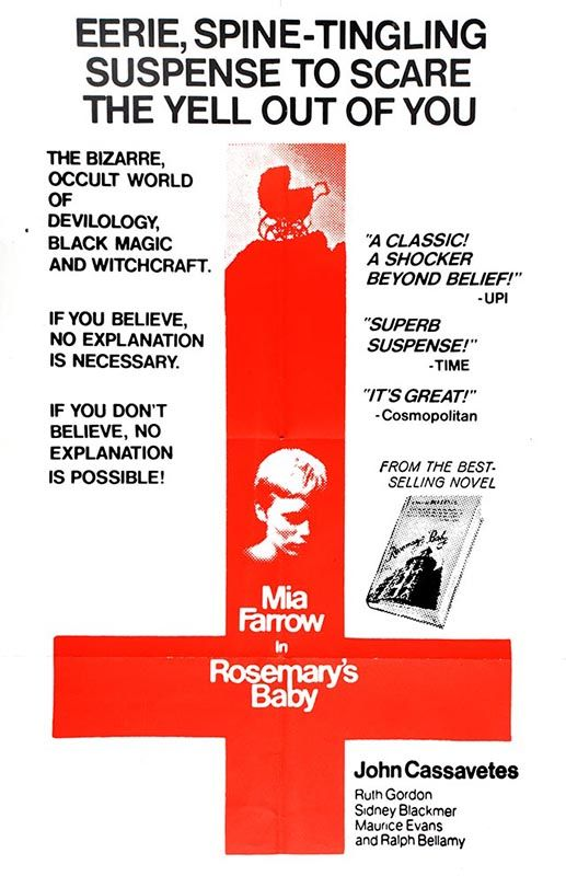 English poster for Rosemary's Baby. Photo: The Łódź Film ...