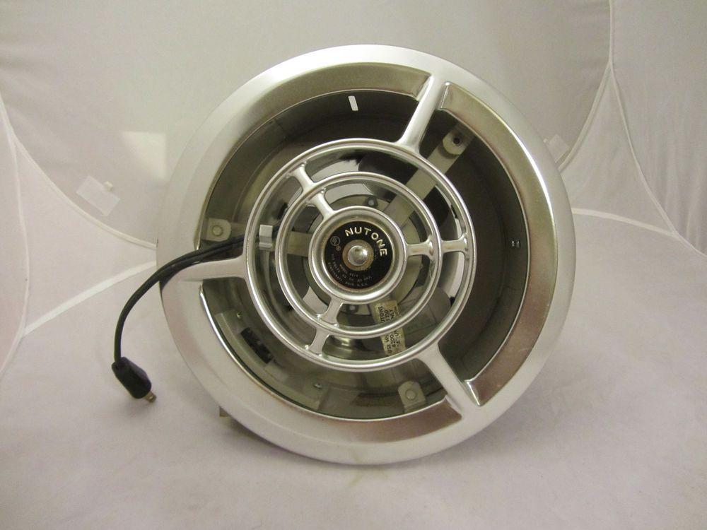 Rare Vintage Mid Century Metal Nutone 8210 Kitchen Fan Retro
