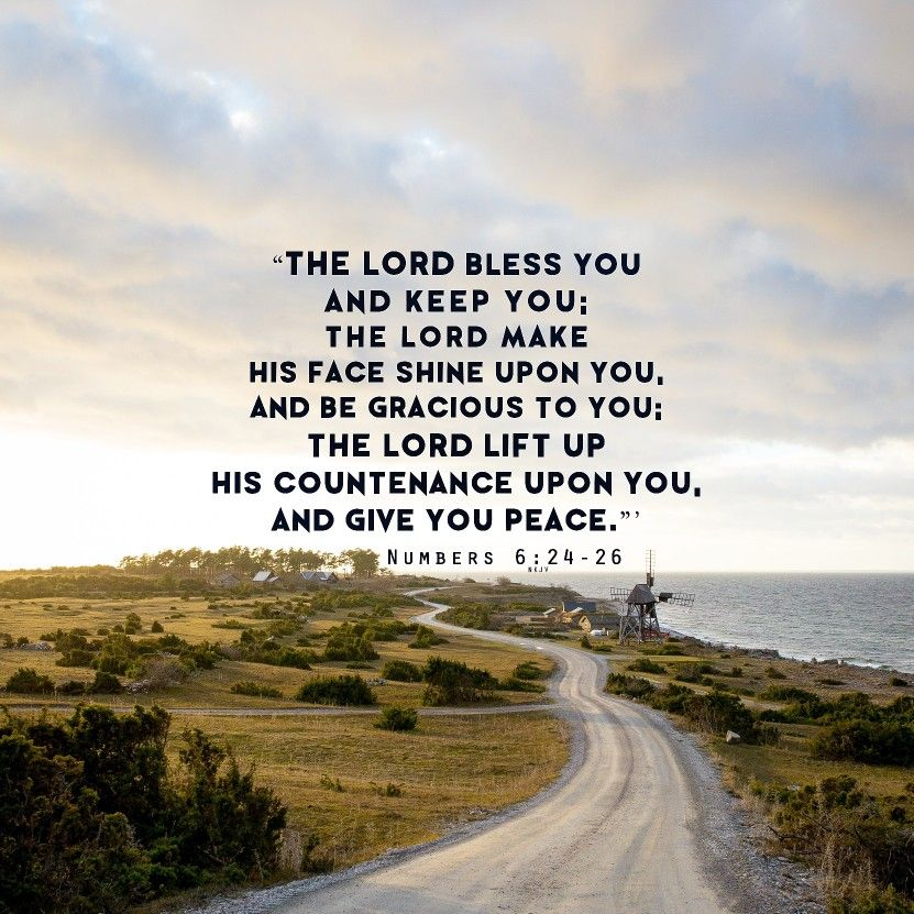 Lift up his countenance