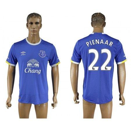 Everton 16-17 #Pienaar 22 Hjemmebanetrøje Kort ærmer,208,58KR,shirtshopservice@gmail.com