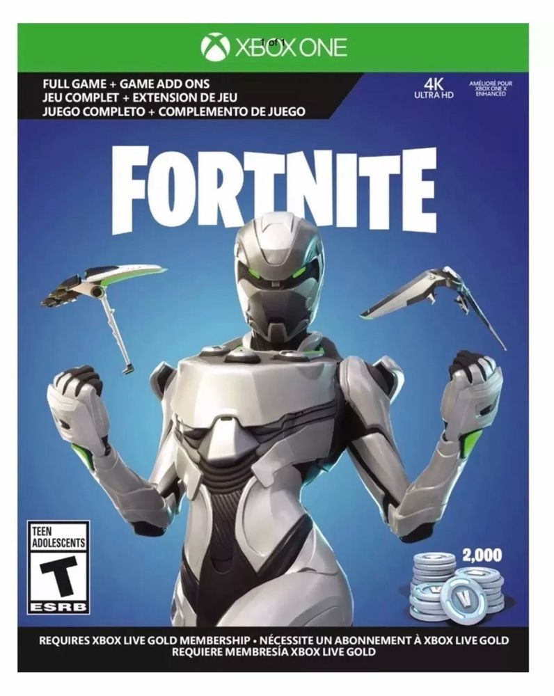Fortnite Eon Skin Bundle With 2 000 V Bucks Fortnite Launch