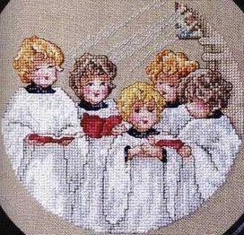 Solo Patrones Punto Cruz 1/2 Childrens Chorus