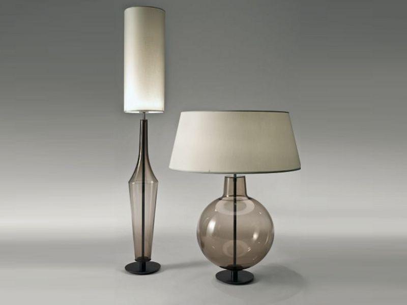 Tischleuchte aus mundgeblasenem Glas TIC by Penta   Design Umberto ...