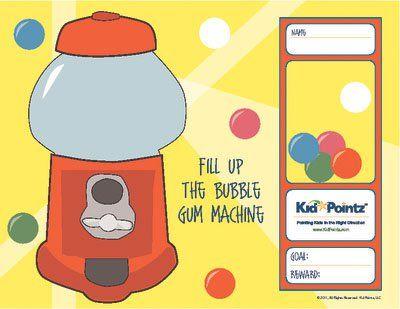 printable sticker reward chart