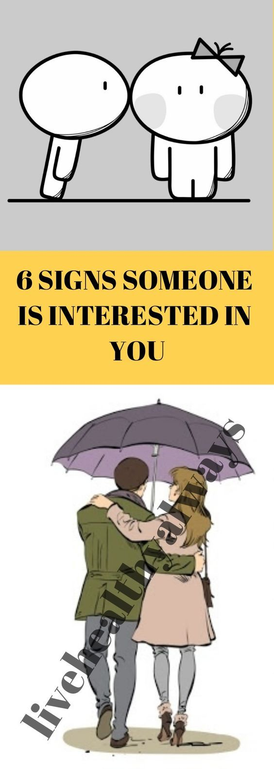 Signs someone is interested in you