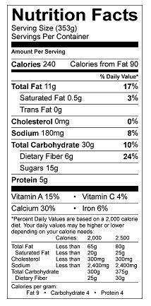 Fig Almond And Date Smoothie Lower In Sugar Nutrition Facts Nutrition Labels Nutrition