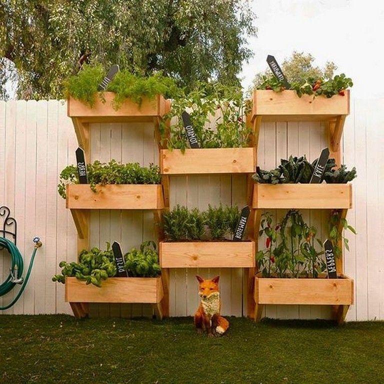 40+ Inspiring Vertical Vegetable Garden Design Ideas ...