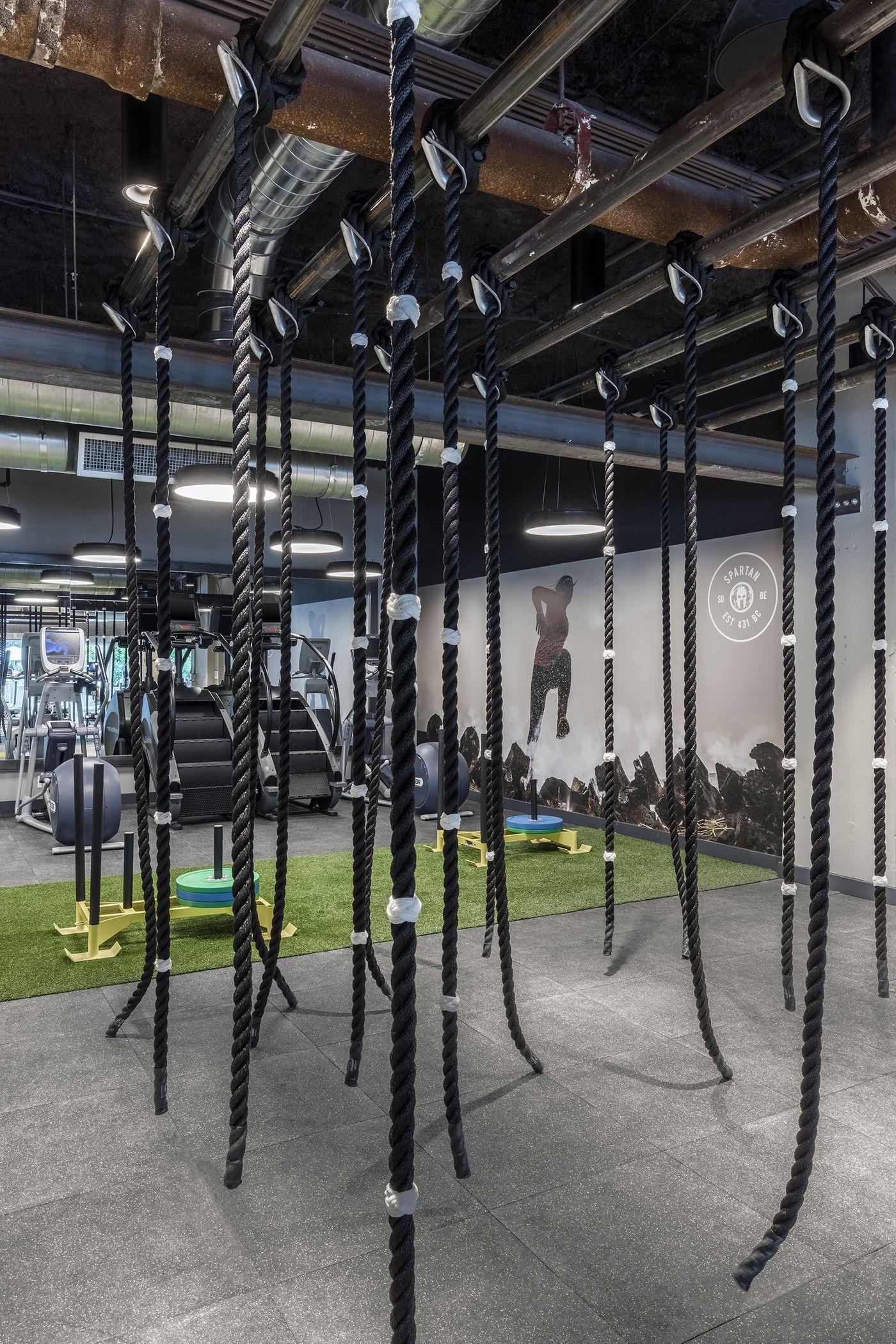 Tour 1 Hotel South Beach S New Spartan Gym Gym Interior Gym Design Spartan Gym