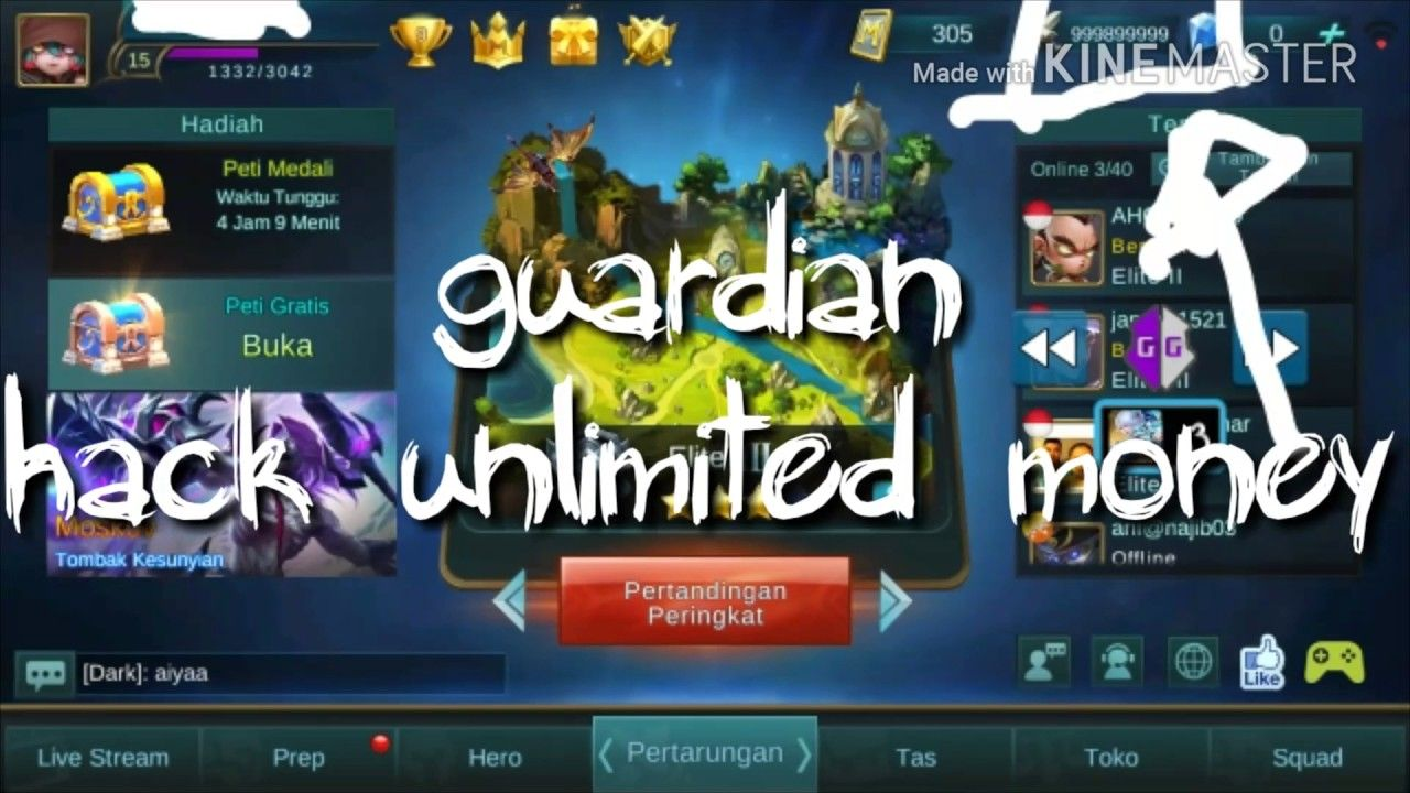 mobile legends hack and cheats - how to get free diamonds