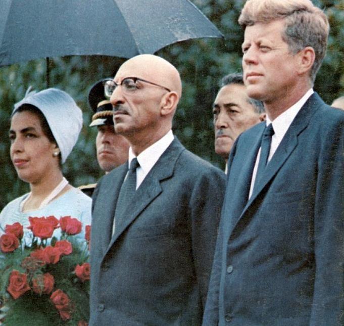 Zahir Shah And Kennedy Afghanistan Afghan War Culture