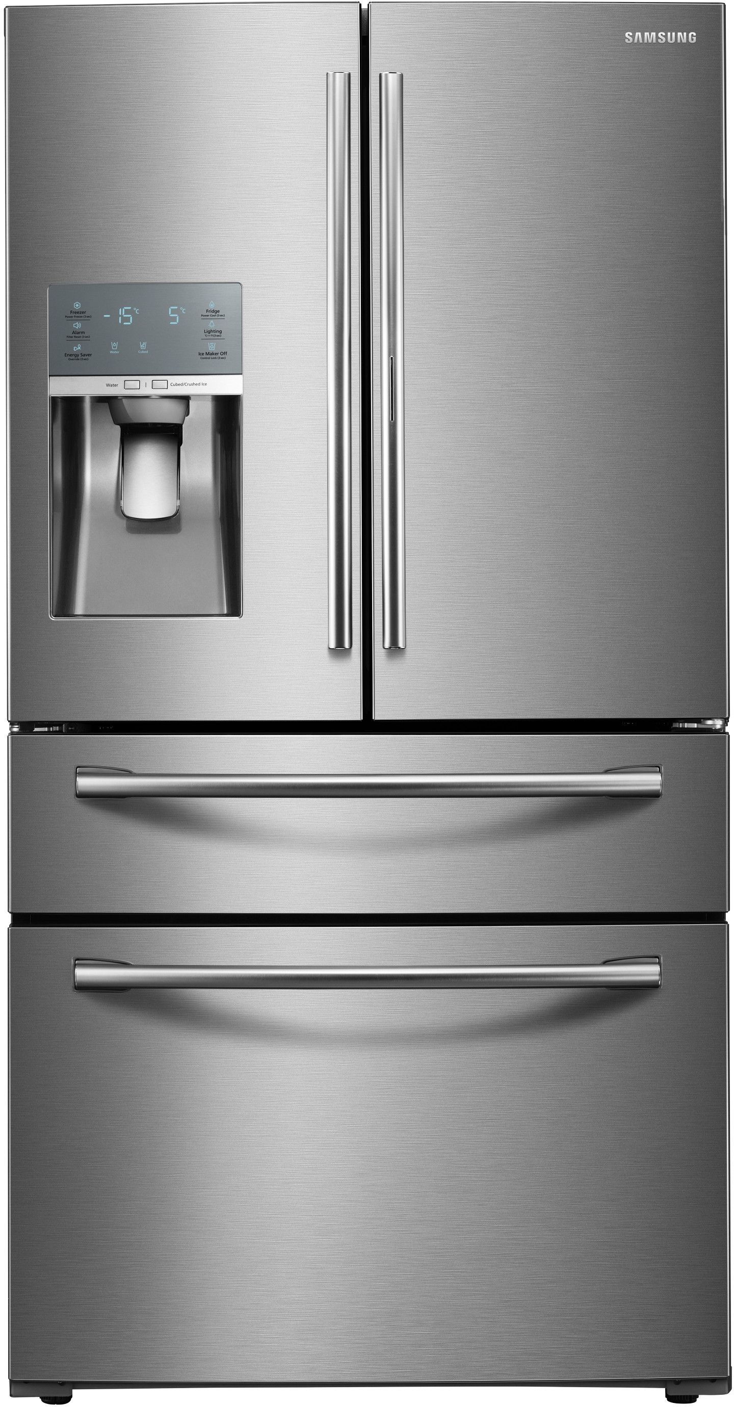 Samsung Double Door Fridge With Ice Maker Samsung Refrigerator