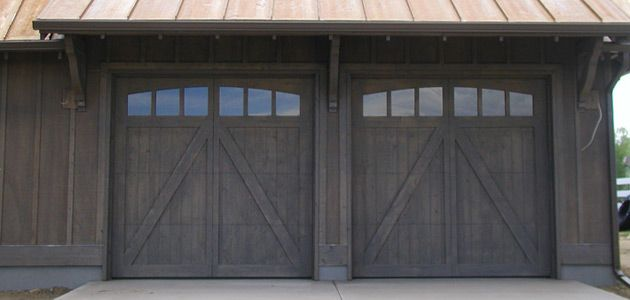 Barn Door Garage Doors Custom Wood Carriage House Doors