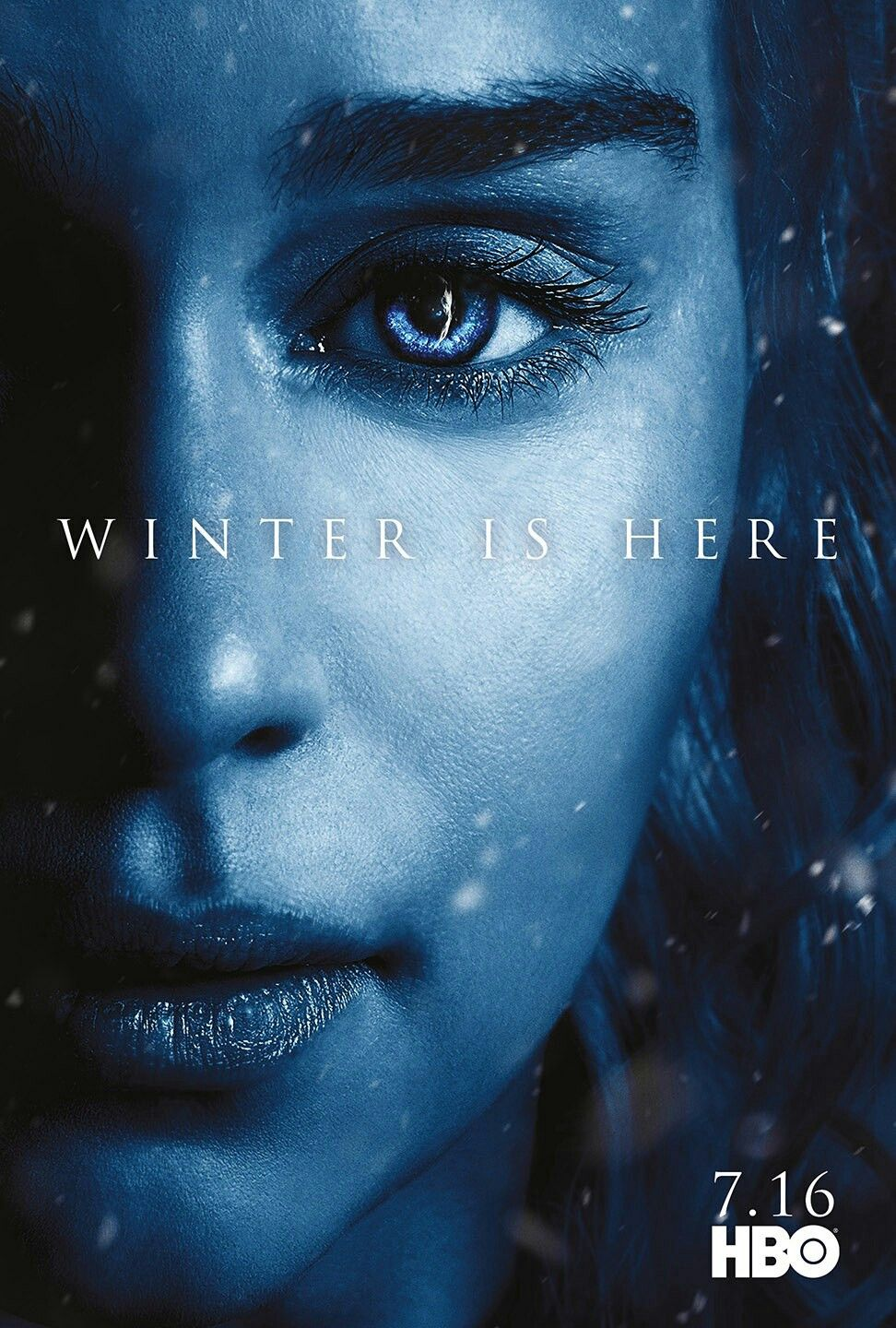 Winter Is Here And Khaleesi Is Coming To Westeros Game Of Thrones Winter Game Of Thrones Poster Game Of Thrones Cast