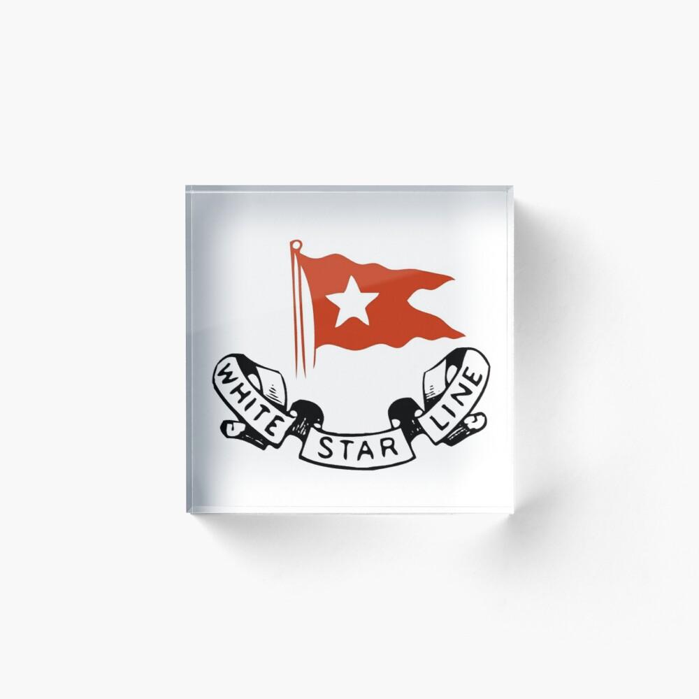 White Star Line By Dharmendra Yadav Redbubble Star Shape Stars Living Decor