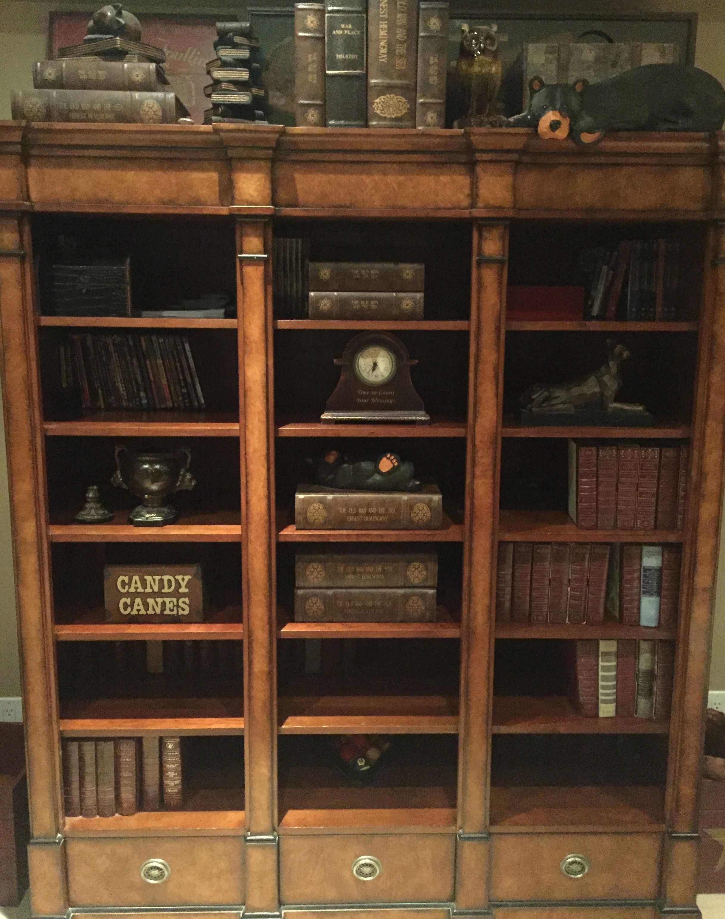 bookcases chairish oak bookcase product wakefield and vintage heywood circa antique by reed