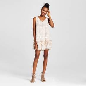 Women's Drop Waist Shift Dress - Xhilaration™ (Juniors') White : Target