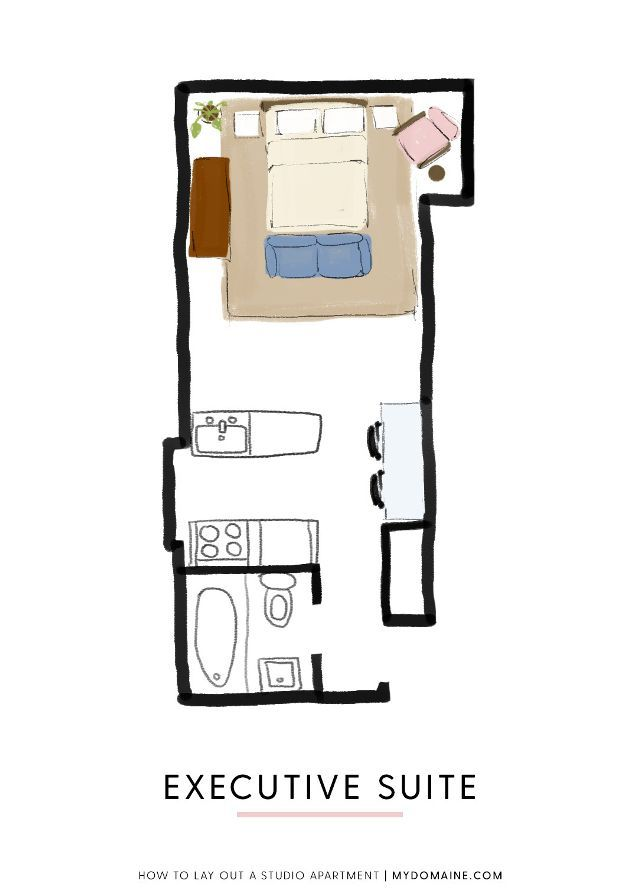 One Studio Apartment WaysFollow Our Stylish Guide Best Studio - Best studio apartment floor plan layout examples