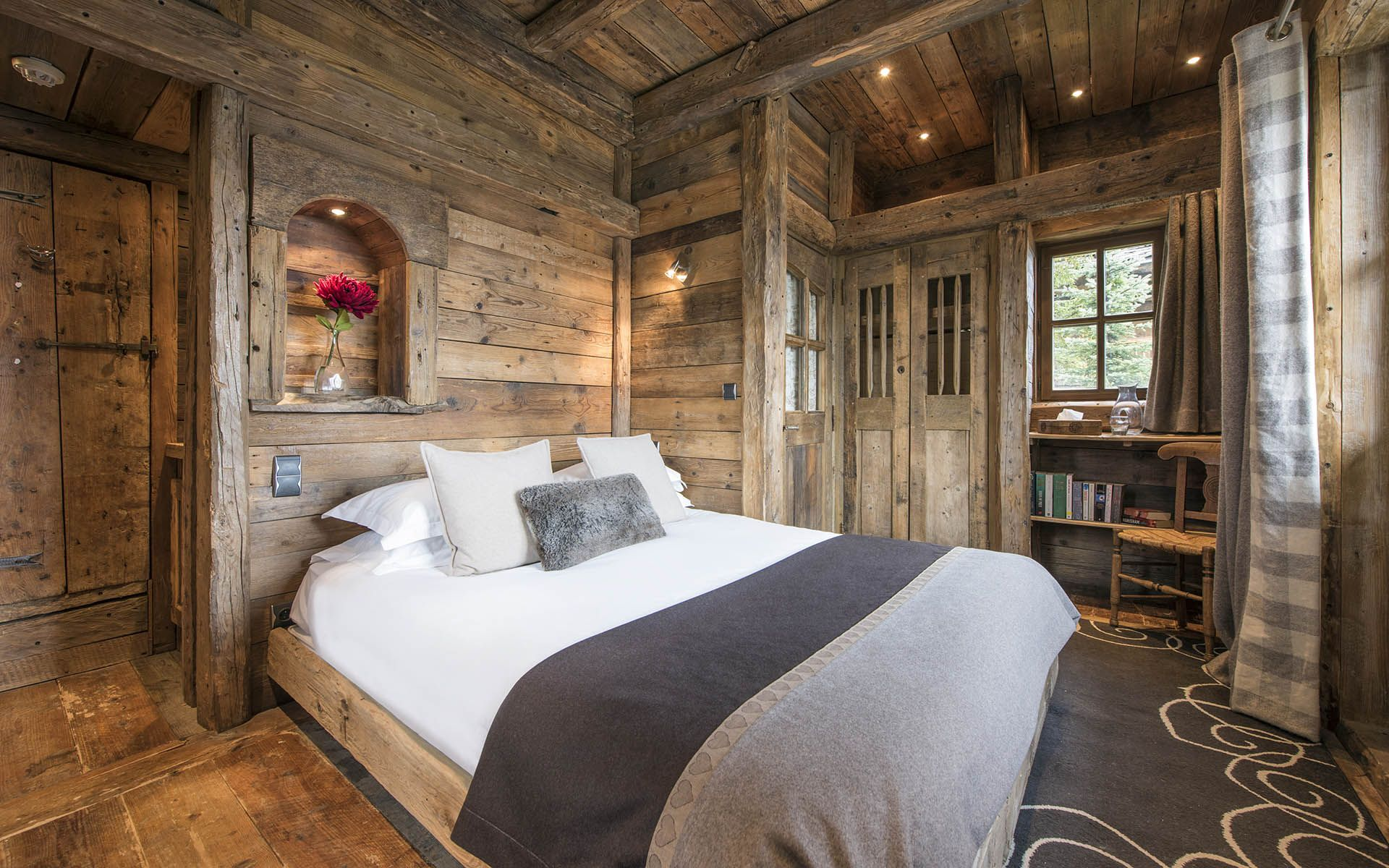 bedroom pin cabin magee pinterest ideas mellon homestead lodging luxury