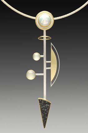 Yumi Ueno Art Jewelry & Metal : Jewelry Gallery : Necklace