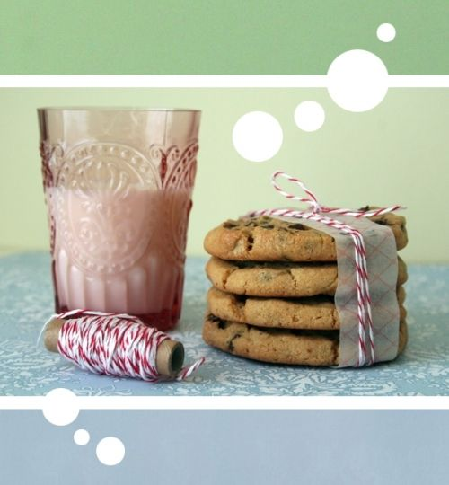 cookies tied up with twine.