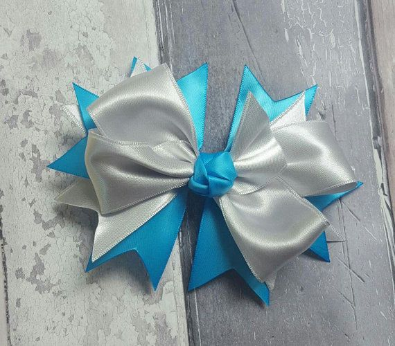 Handmade hair bow by TheBowGeek on Etsy