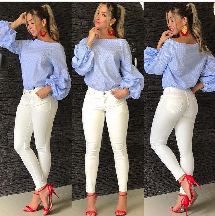 3a40ab097 Lovely blouse!! | style en 2019 | Ropa de moda, Ropa y Ropa casual