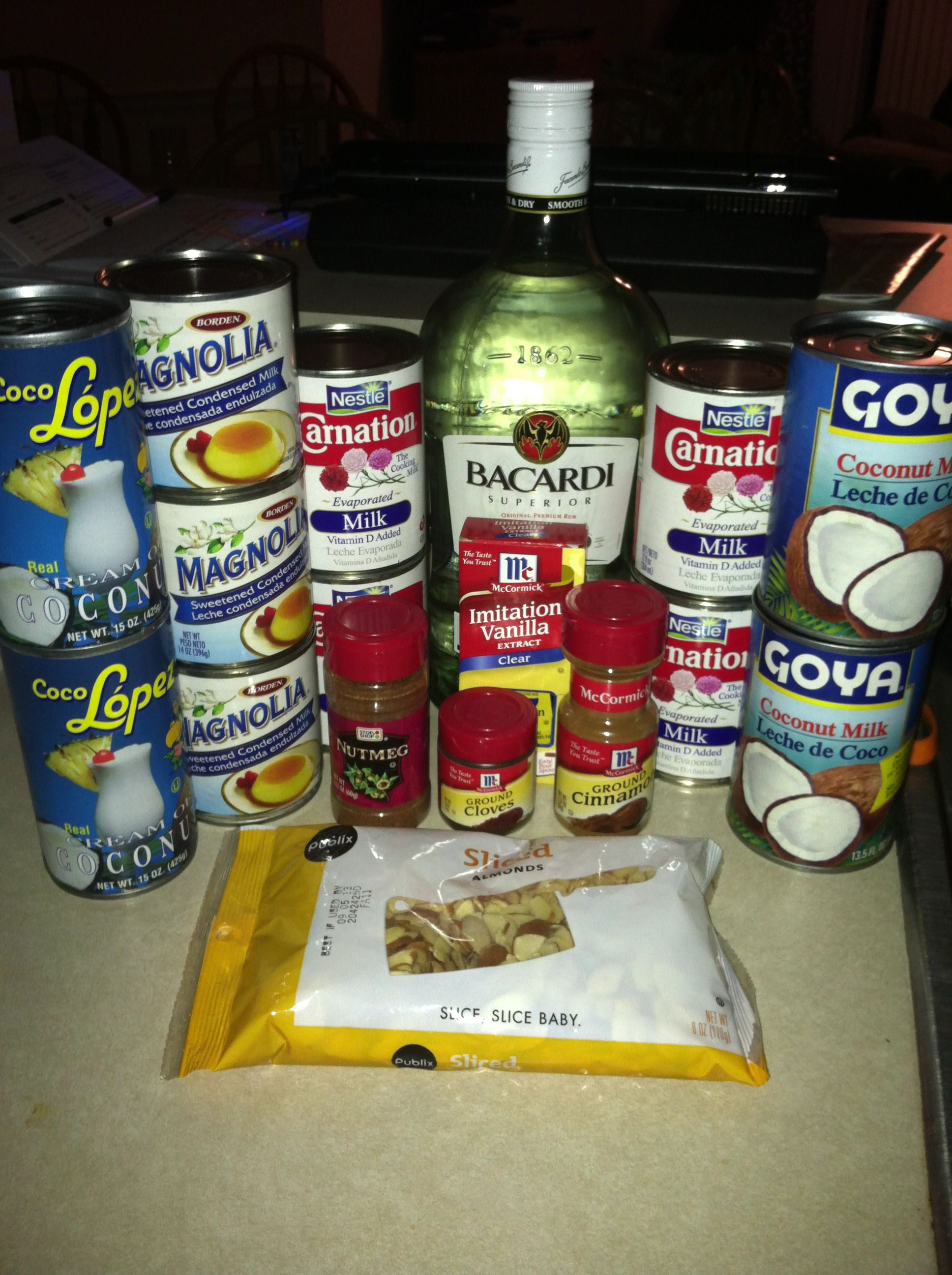 Coquito ingredients & directions: Coquito (my way) ;) Ingredients