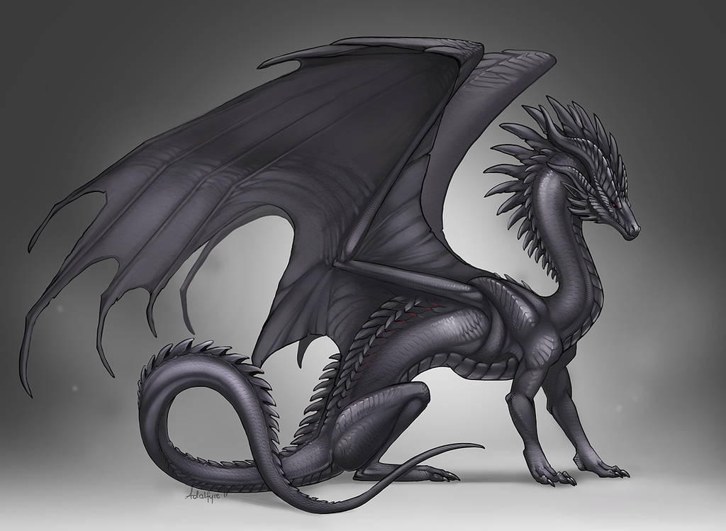 My oldest OC, finally done in full form. He's a lesser daemon from ...