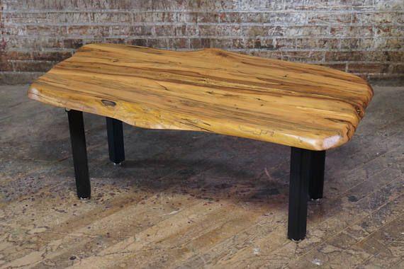 Rare Dogwood Coffee Table Live Edge Modern Natural Wood Slab