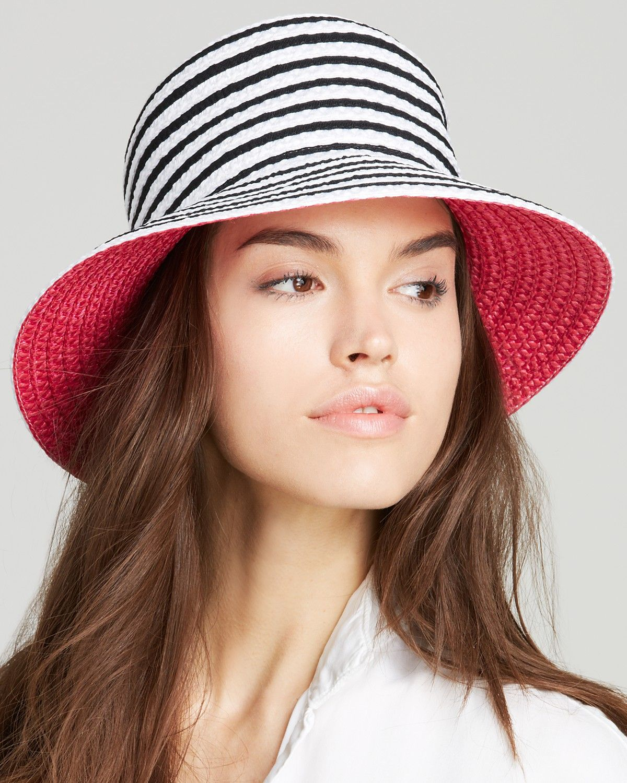 Eric Javits Braid Dame Multicolor Bucket Hat  c731c8402a1