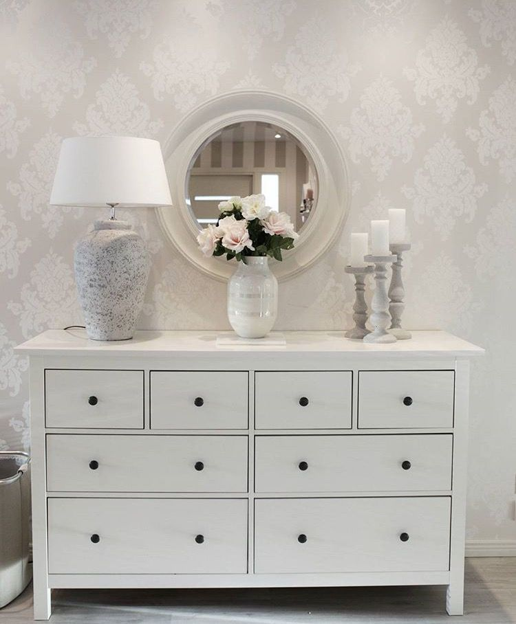 hemnes kommode gestaltung flur pinterest. Black Bedroom Furniture Sets. Home Design Ideas